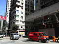 HK Sai Ying Pun 西環 皇后大道西 100 Queen's Road West Coca Cola van July-2012.JPG