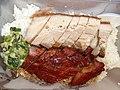 HK WC Wan Chai Road shop BBQ roasted pork meat plastic food box April 2021 SS2 01.jpg