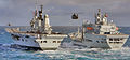 HMS Ark Royal RAS with RFA Wave Knight MOD 45151261.jpg