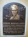 HOF Landis Kenesaw Mountain plaque.jpg