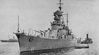 Royal Thai Navy - HTMS Thonburi, 1938