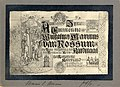 HUA-105690-Afbeelding van een gecalligrafeerde wenskaart ter gelegenheid van de benoeming van Wilhelmus Marinus van Rossum tot kardinaal op 27 november 1911.jpg