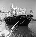 HUA-171575-Afbeelding van een containerschip in de Prinses Margriethaven te Rotterdam.jpg