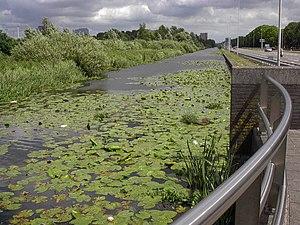 Haarlemmertrekvaart - Haarlemmertrekvaart near Amsterdam.