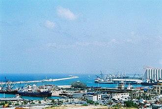 Port of Beirut - Old docks in the Beirut Port