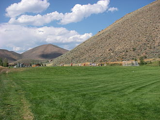Hailey, Idaho - Soccer fields in Hailey (2009)