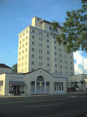 Haines City, Florida - The Polk Hotel.
