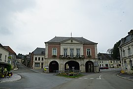 The town hall in Signy-l'Abbaye