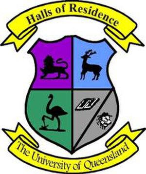 Residential colleges of the University of Queensland - Image: Halls of Residence Logo small