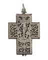 Halsur av silver i form av ett kors, 1600-tal - Hallwylska museet - 110511.tif