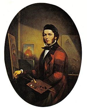 Théophile Hamel - Image: Hamel Self Portrait 1846