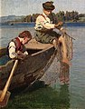 Hans Gude - Children fishing - NG.M.00635-010 - National Museum of Art, Architecture and Design.jpg