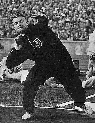 Hans Woellke - Woellke at the 1936 Olympics