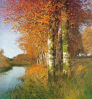 Hans am Ende - Birken am Moorgraben (1896)
