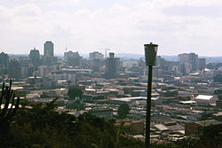 Harare, Zimbabwe from the Kopje