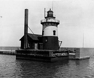 Harbor Beach Light lighthouse in Michigan, United States