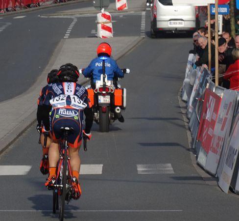 Harelbeke - Driedaagse van West-Vlaanderen, etappe 1, 7 maart 2015, aankomst (A43).JPG
