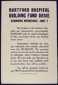 Hartford Hospital Building Fund Drive - NARA - 534029.tif