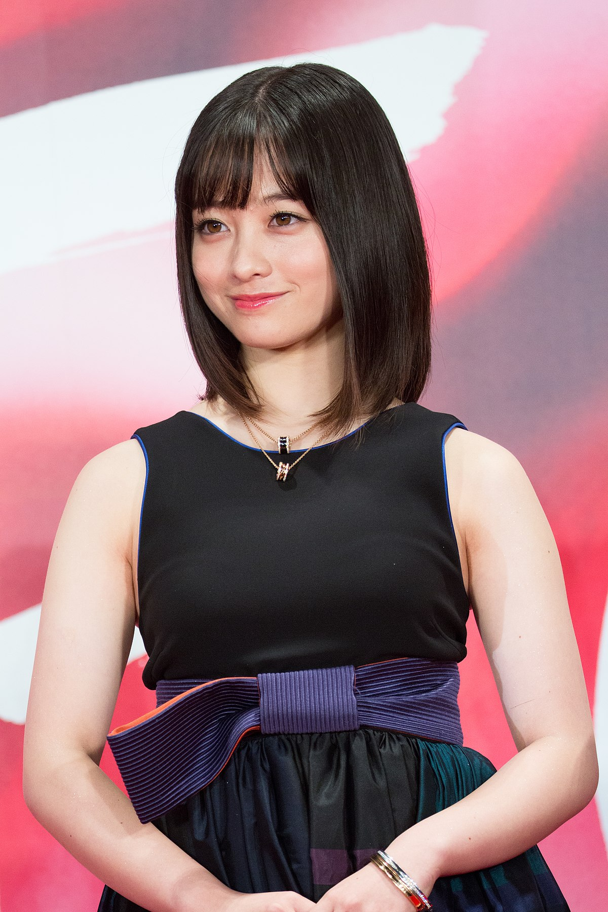 File:Hashimoto Kanna at Opening Ceremony of the Tokyo