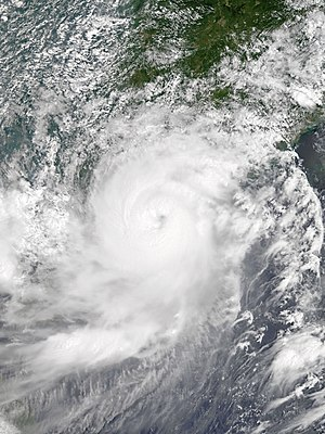 Typhoon Hato - Image: Hato 2017 08 23 0250Z