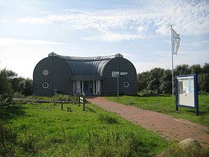Naturschutzbund Deutschland - NABU Station Haus Wattwurm on the Speicherkoog Dithmarschen