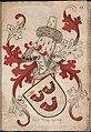 Heer van Hoern - Heer van Horne - Lord of Horn - Wapenboek Nassau-Vianden - KB 1900 A 016, folium 12r.jpg