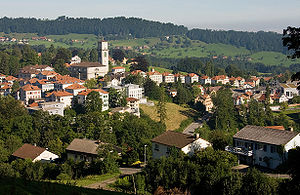 Heiden, Switzerland - Image: Heiden Dorf