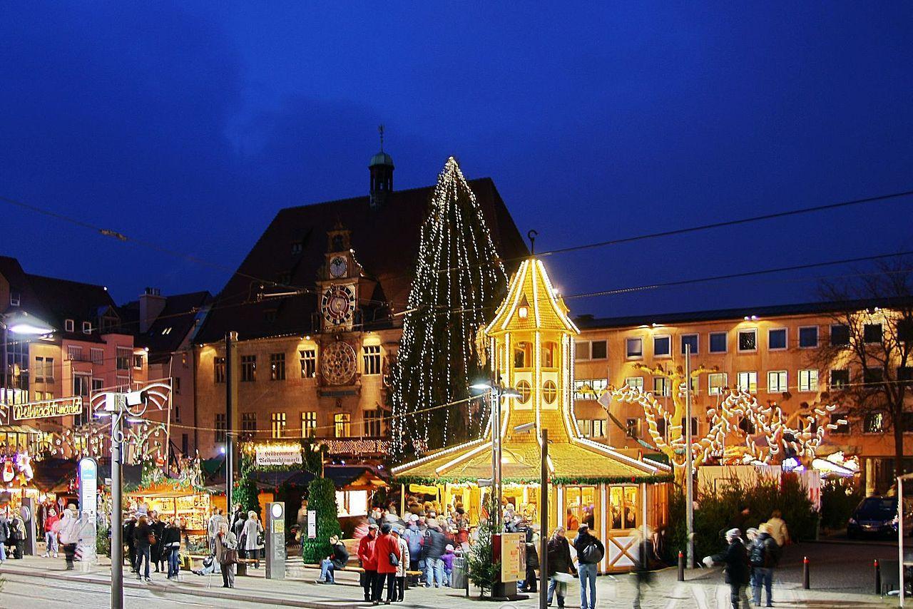 Weihnachtsmarkt Heilbronn.File Heilbronn Weihnachtsmarkt 2009 2 Jpg Wikimedia Commons