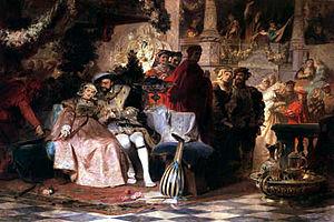 Karl von Piloty - Image: Heinrich und anna boleyn Piloty