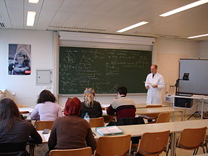 Hellmuth Stachel - Professor Hellmuth Stachel delivers a lecture on Non-Euclidean Geometry at Vienna University of Technology on November 17, 2009