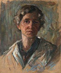 Henrika Šantel - Avtoportret (1922).jpg