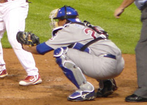 Henry Blanco - Blanco playing for the Chicago Cubs in 2006