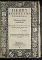 Herby rycerztwa polskiego na piecioro xiag rozdzielone post 1584 (67609874).jpg
