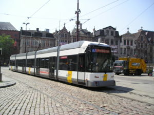 De Lijn - De Lijn tram in Ghent