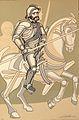 Hernán Cortés, Arnold Belkin.jpg