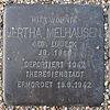 Stolperstein für Hertha Melhausen