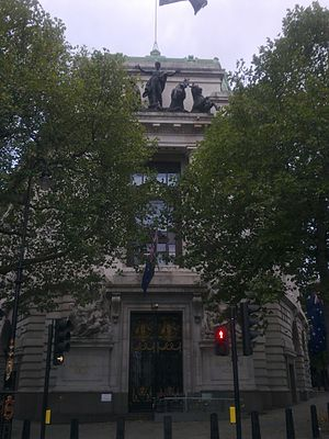 High Commission of Australia, London - Image: High Commission of Australia in London 1