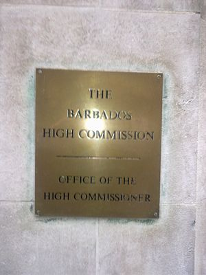High Commission of Barbados, London - Image: High Commission of Barbados 2