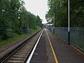 Hinchley Wood stn southbound look south.JPG
