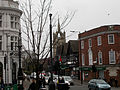Historic central crossroads, SUTTON, Surrey, Greater London.JPG