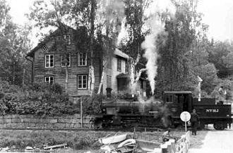Virserum - Image: Hjortöström