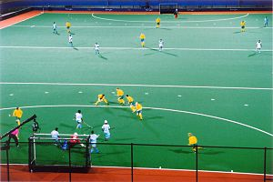 Field hockey at the 2000 Summer Olympics - Image: Hockey Sydney Olympics