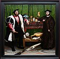 Holbein il giovane, gli ambasciatori, 1533, 01.jpg