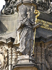 Holy Trinity Column-Saint Methodius