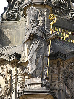 Holy Trinity Column-Saint Methodius.jpg