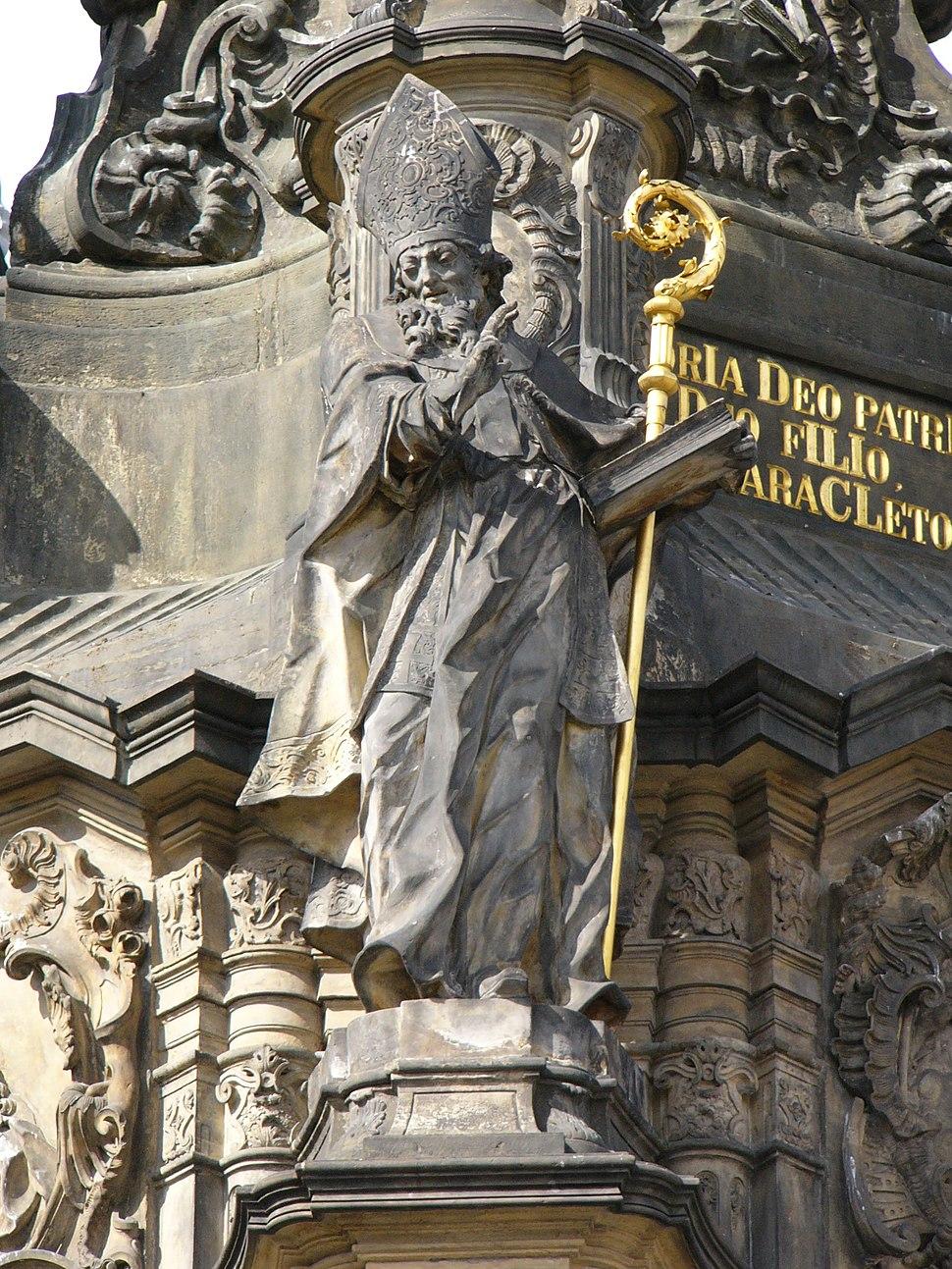 Holy Trinity Column-Saint Methodius
