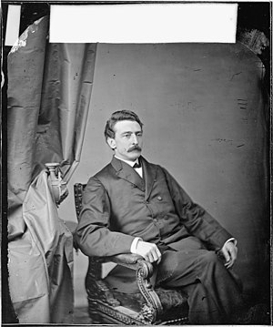 Charles E. Phelps - A portrait of Charles Phelps taken in the 1860s