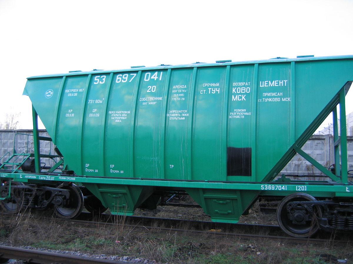 Хоппер (вагон) — Википедия Хопер