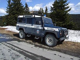 Mountain rescue - Car of Horská služba (Czech Republic)