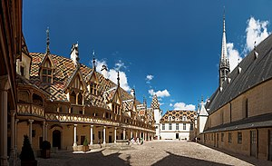 Côte-d'Or - Image: Hostel Dieu Beaune